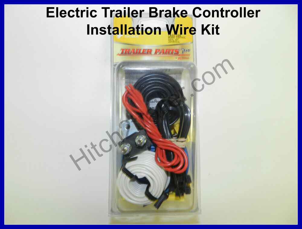 universal electric trailer brake controller installation