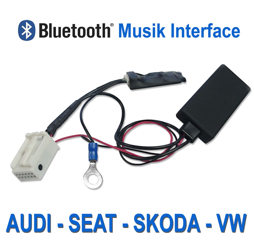 Bluetooth Adapter For Audi And Volkswagen Ipod Iphone Ami: Bluetooth MP3 AUX Radio Adapter AUDI A3 A4 A6 Radio TTCQ