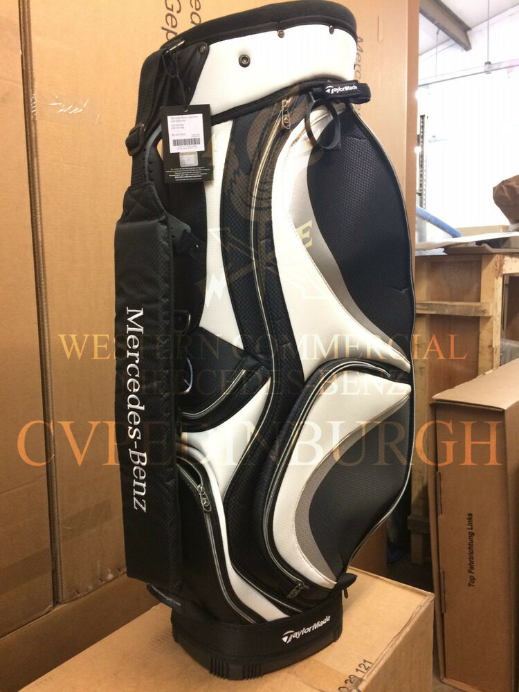 Genuine mercedes benz golf bag by taylormade bnib ebay for Mercedes benz golf bag