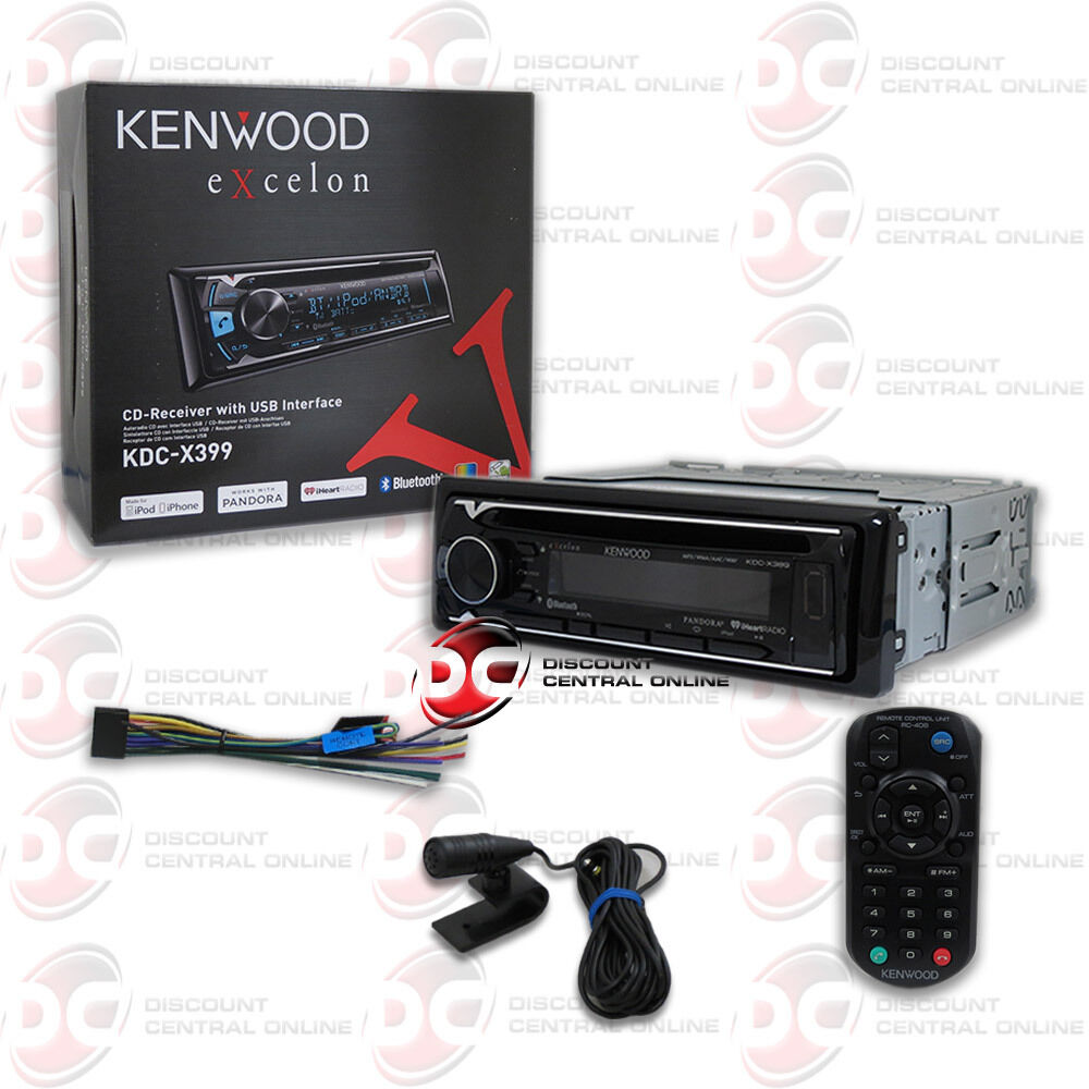 Kenwood kdc din car mp cd bluetooth stereo w
