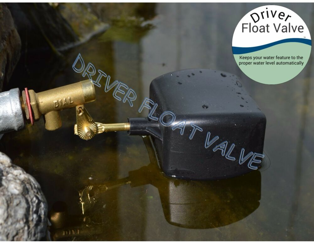 Float Valve Auto Fill For Pond Pool Fountain Water