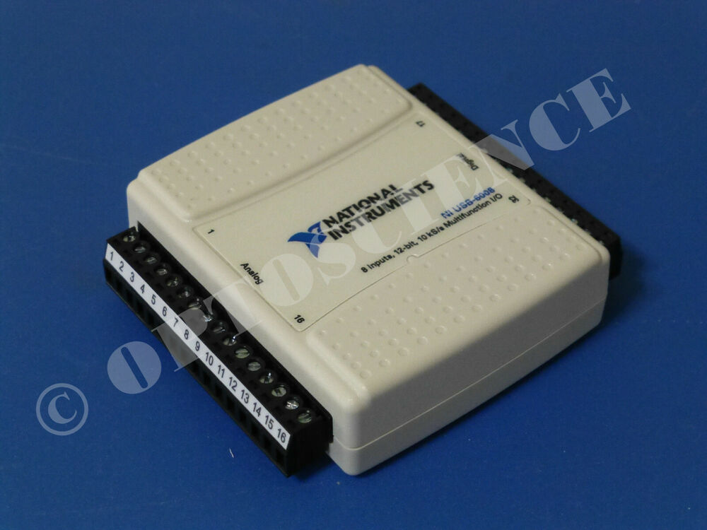 Data Acquisition Usb : National instruments usb data acquisition card ni
