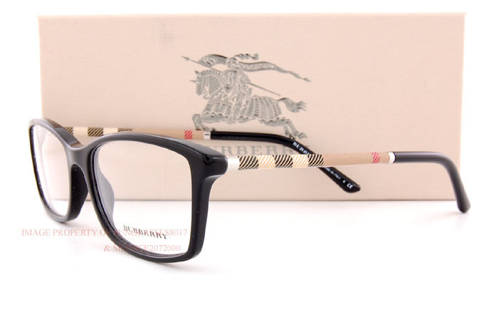 New Burberry Eyeglass Frames : Brand New BURBERRY Eyeglass Frames BE 2120 3001 Black For ...