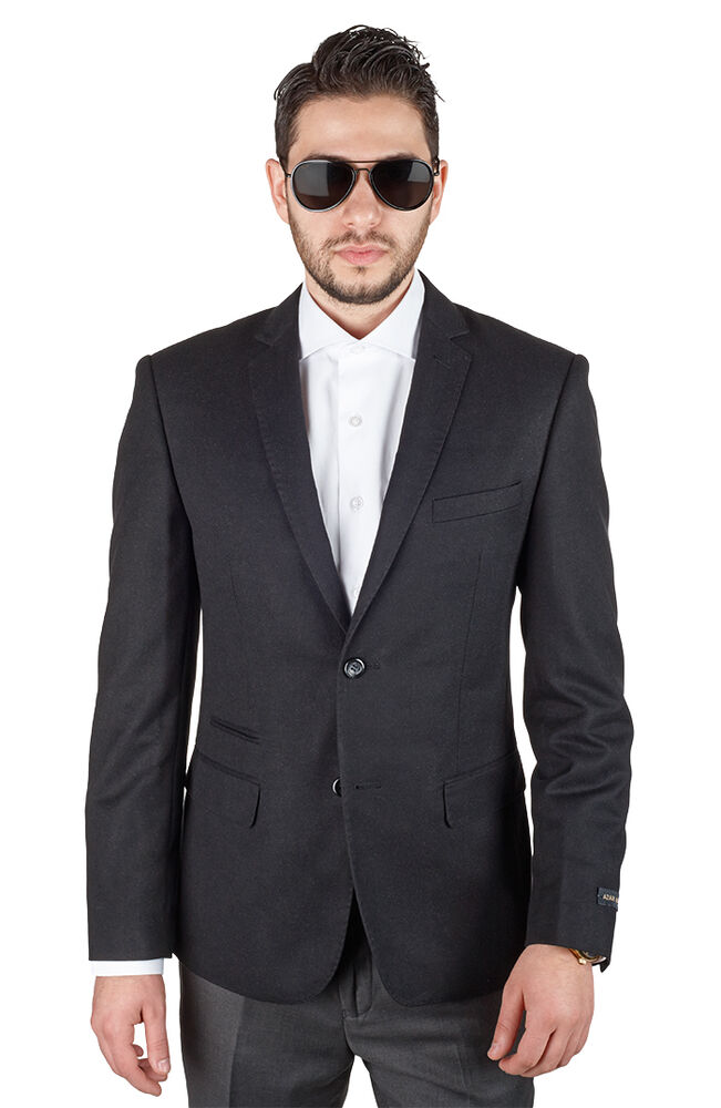 Men's Sports Coats and Blazers to Enhance Your Wardrobe When formal settings require you to dress your best, men's sports coats and blazers complete your outfit. A variety of styles refines your look, allowing you to express your personality through different materials and cuts.