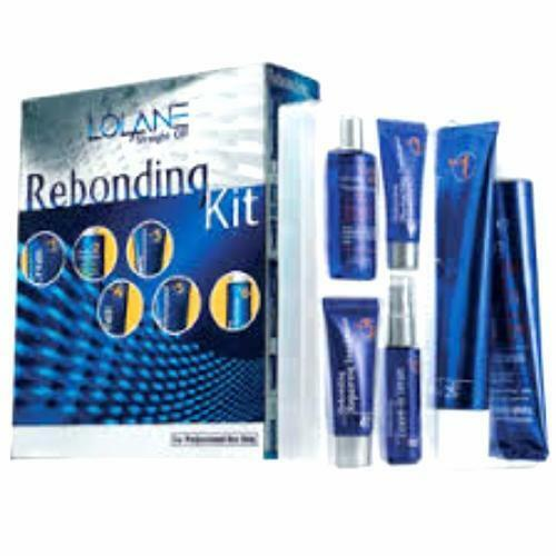 Lolane Rebonding Kit Straight System Permanent Hair