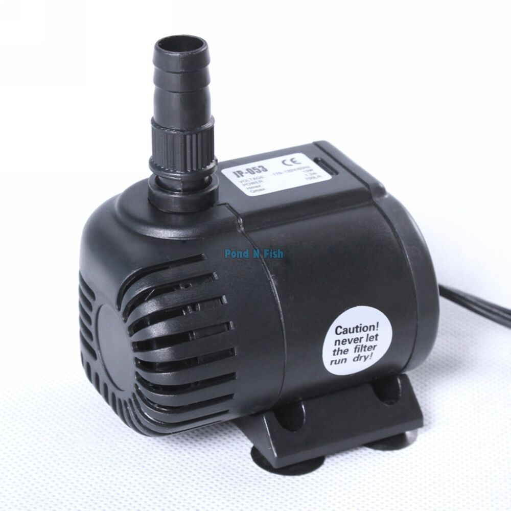 180 gph submersible aquarium water pump fish tank for Fish water pump
