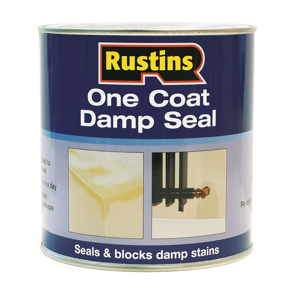Rustins One Coat Damp Seal 250ml 500ml 1l Interior Damp Proof Paint Ebay