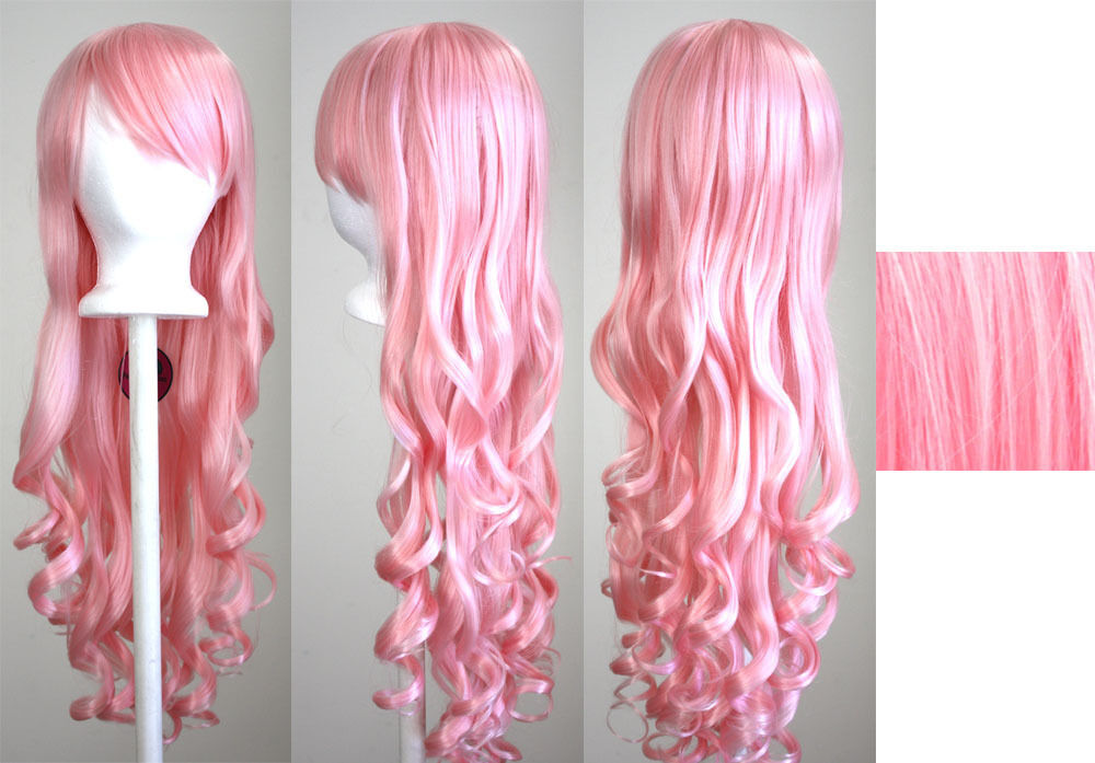 Cotton Candy Pink Wigs 119