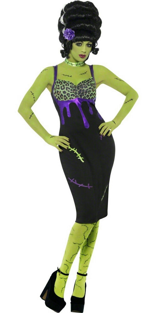 Pin Up Frankie Sexy Bride of Frankenstein Adult Costume ...