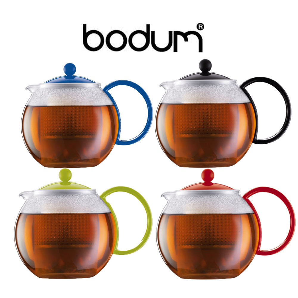 bodum assam tea coffee herbal pot press with filter 1 0l 0 5l ebay. Black Bedroom Furniture Sets. Home Design Ideas