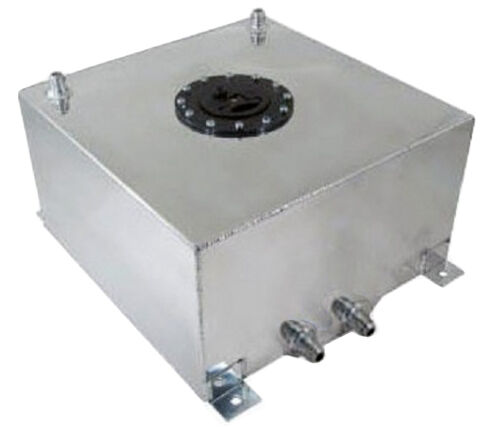 New 10 1 2 Gallon Street Strip Aluminum Fuel Cell With
