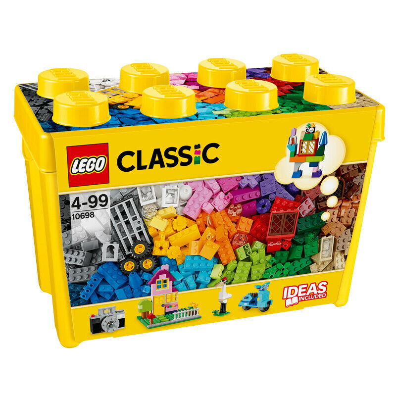Lego Förvaringshuvud Large ~ Lego Classic Large Creative Brick Box 10698 NEW eBay