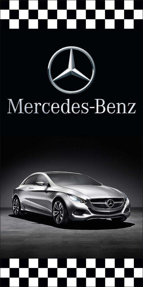 Mercedes benz auto dealer vertical avenue pole banner for Dealer mercedes benz