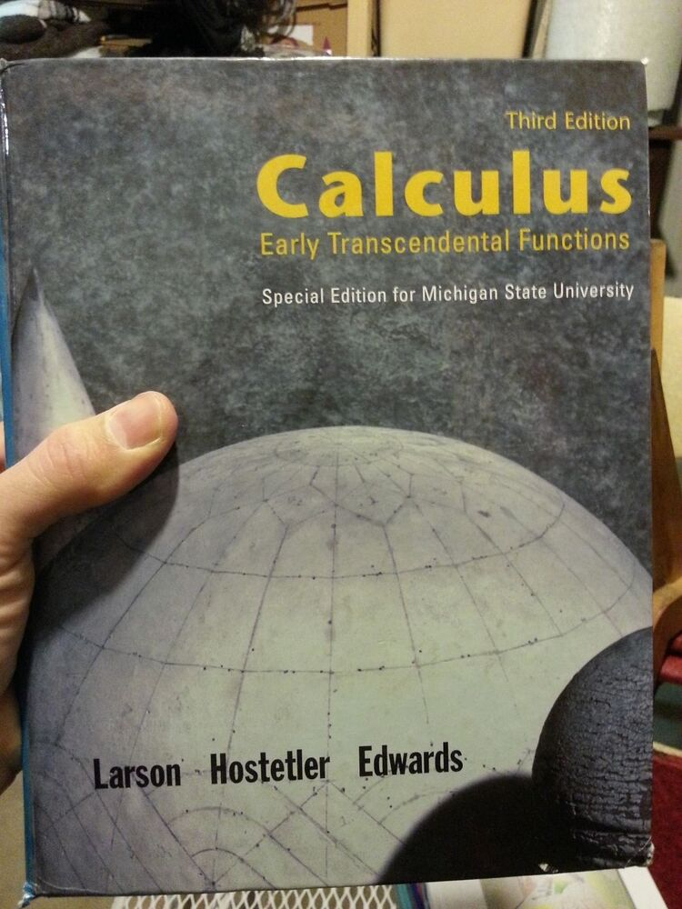 Calculus early Transcendental functions 4th edition