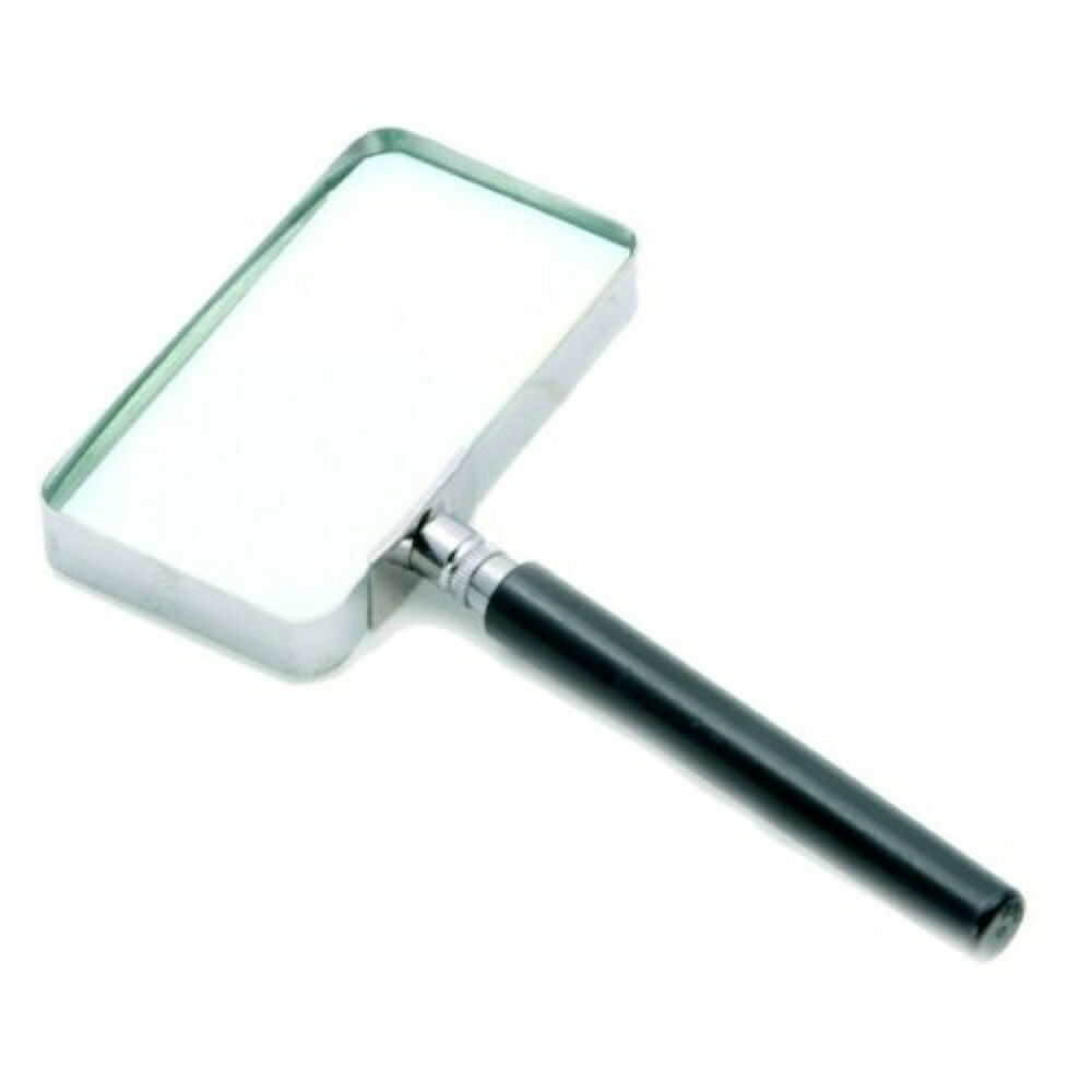 magnifying glass magnify large rectangular reading glass