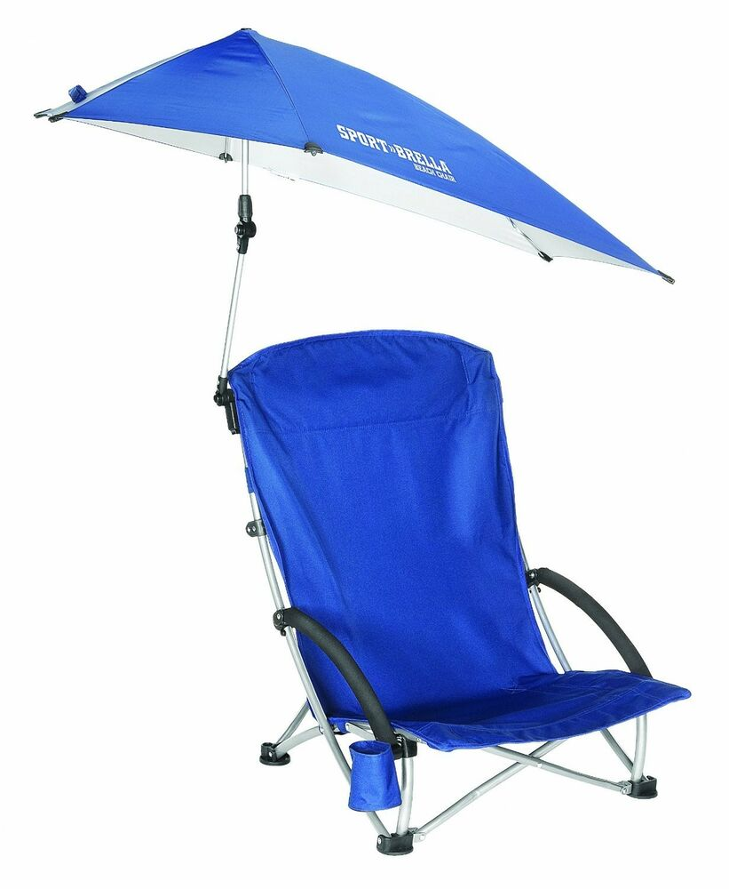 Portable Compact Canopy : New sport brella beach lightweight chair with umbrella
