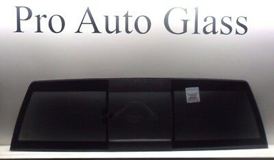 New Rear Back Slider 2009-15 Dodge Ram Sliding Tinted OE Window Glass w/ Sealant