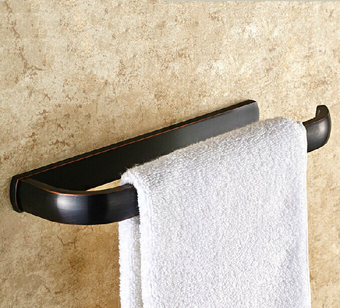 Modern Oil Rubbed Bronze Bathroom Towel Rack Holder Towel Ring Bar Hanger Brass Ebay