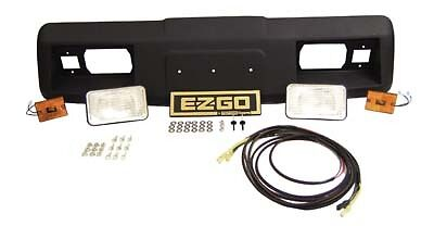 complete golf cart headlight kit with cowling for ezgo. Black Bedroom Furniture Sets. Home Design Ideas
