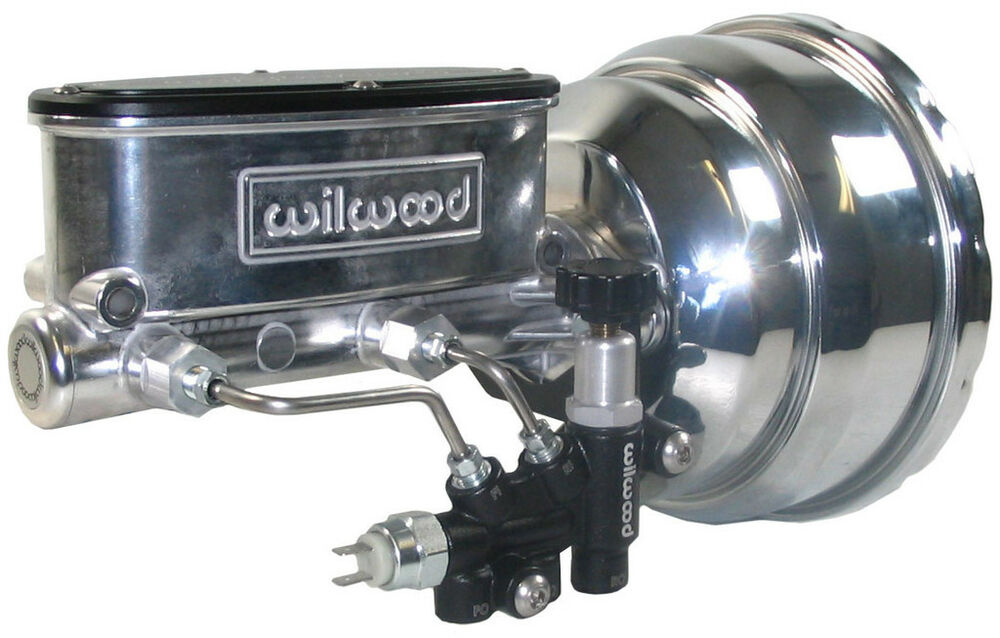 power brake booster  u0026 wilwood polished master cylinder