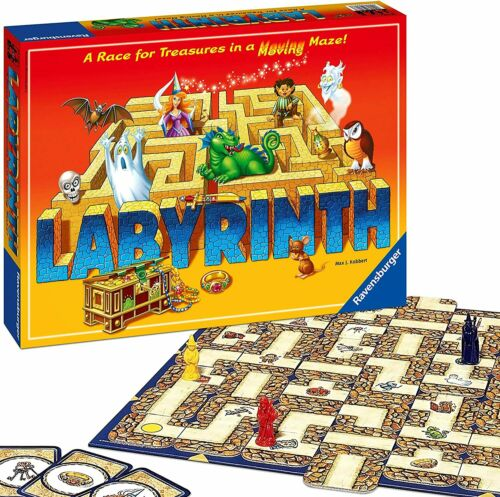 Ravensburger Labyrinth Board Game Up To Four Players Moving Maze BRAND NEW