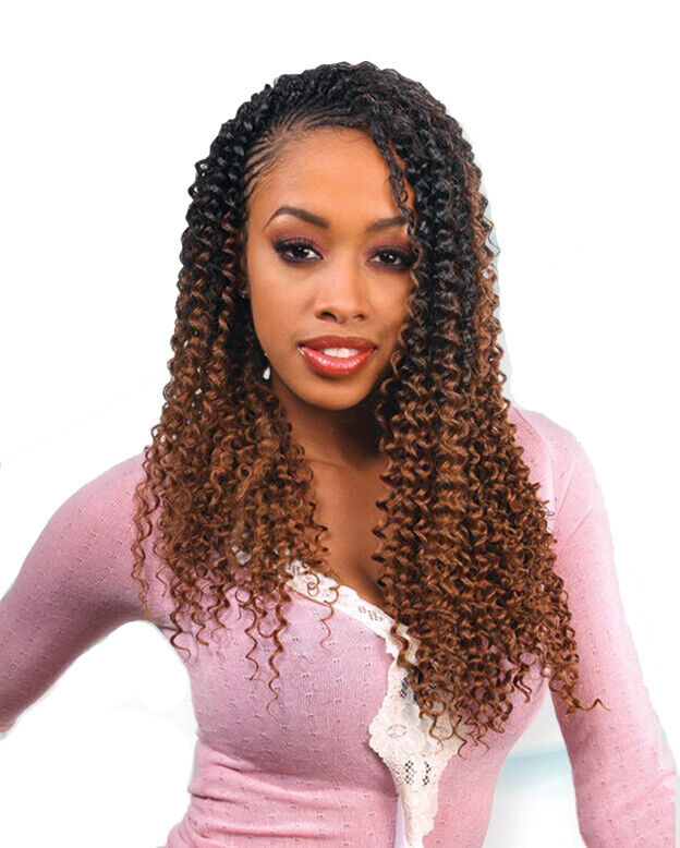 water wave 22 freetress synthetic bulk braiding hair extension ebay. Black Bedroom Furniture Sets. Home Design Ideas