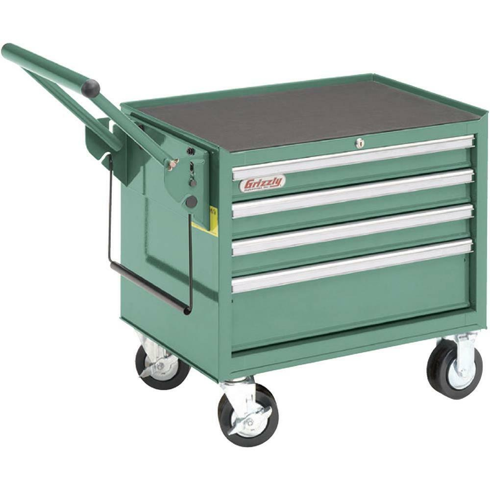 Kitchen Cabinets On Wheels: H5650 Grizzly Baby Roller Cabinet W/ Wheels