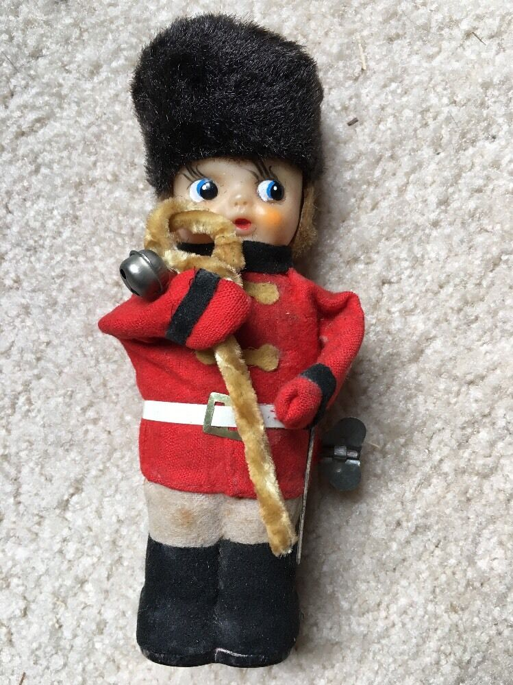 1960 Toys For Boys : English s guard music band soldier wind up toy japan