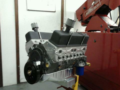 S L on 350 crate engine 400 hp