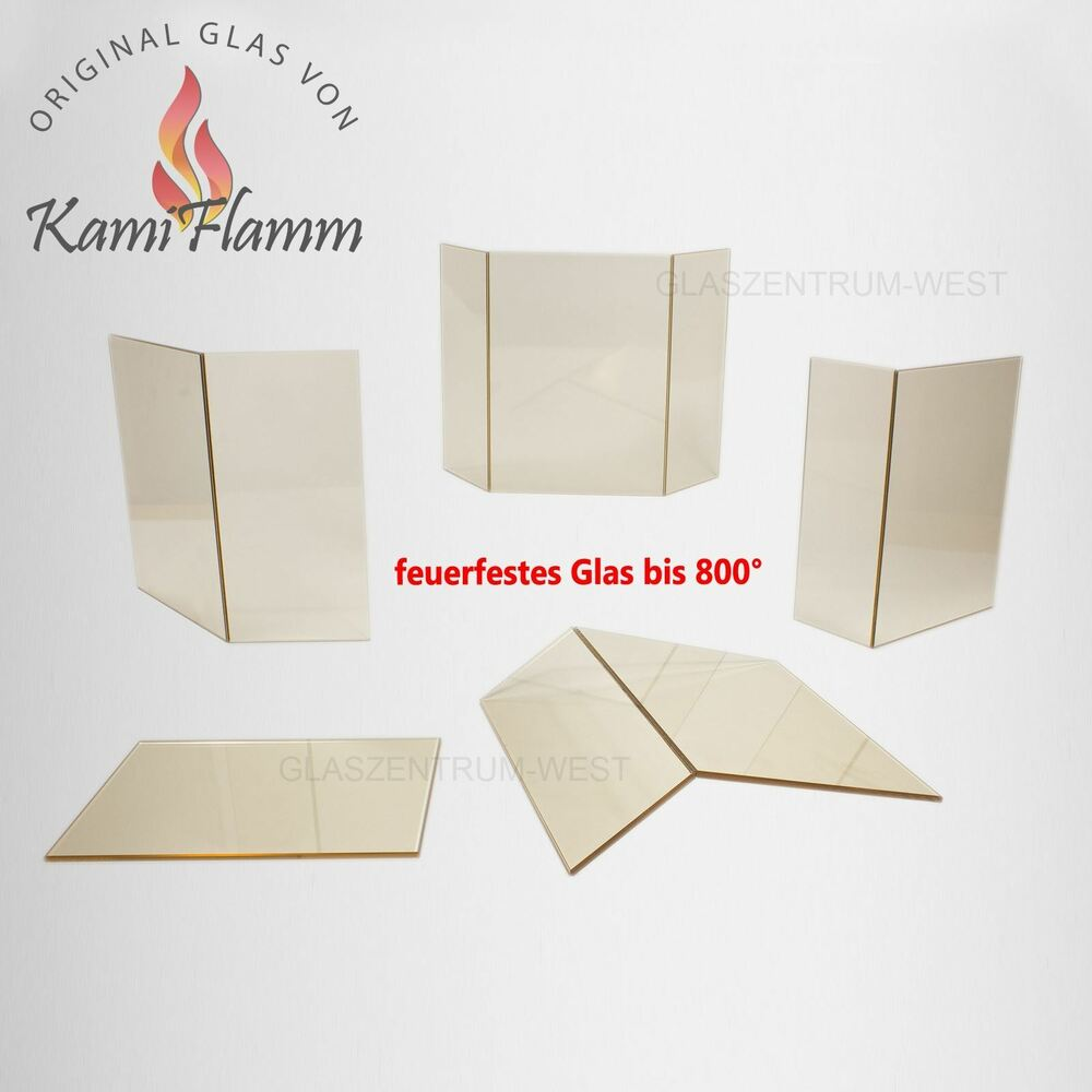 kaminglas feuerfestes glas ofenglas kamin kaminscheibe auf ma angaben in cm ebay. Black Bedroom Furniture Sets. Home Design Ideas