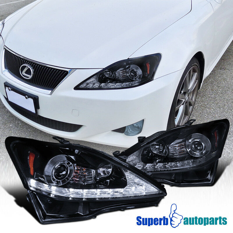 06 09 Lexus Is250 Is350 Led Drl Signal Smoke Projector