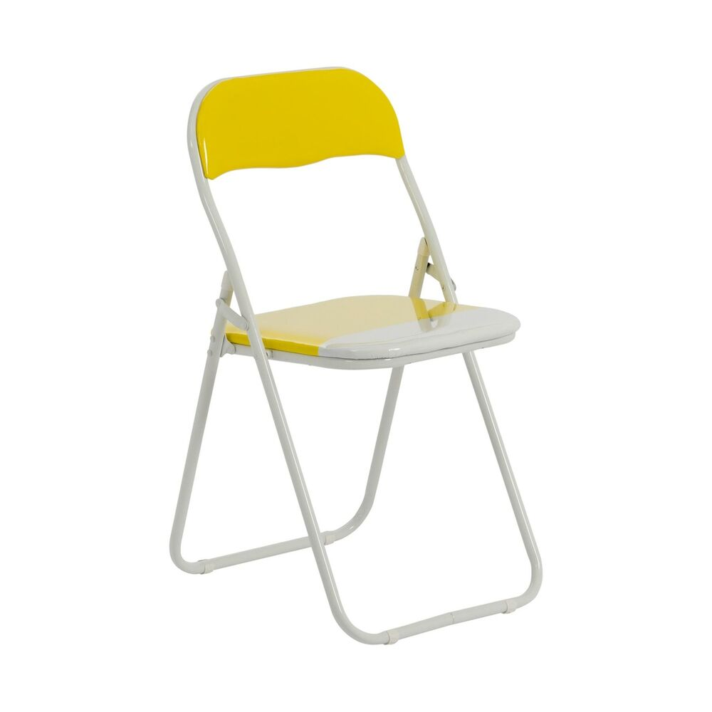 1 x Harbour Housewares Yellow White Padded Folding  : s l1000 <strong>Modern</strong> Desk Chairs from ebay.co.uk size 586 x 1000 jpeg 29kB