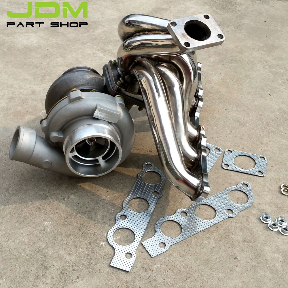 Turbo Kit Tacoma 4 0: GT45 AR 0.84 Oil Turbo SET Exhaust Manifold KIT For Toyota