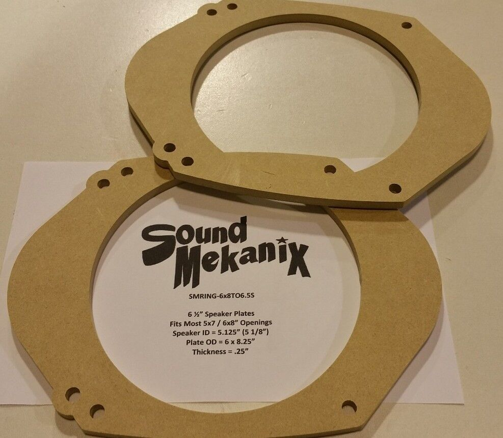 X  Speaker Adapter Rings