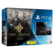 Sony PS4 500gb Console with THE ORDER game bundle