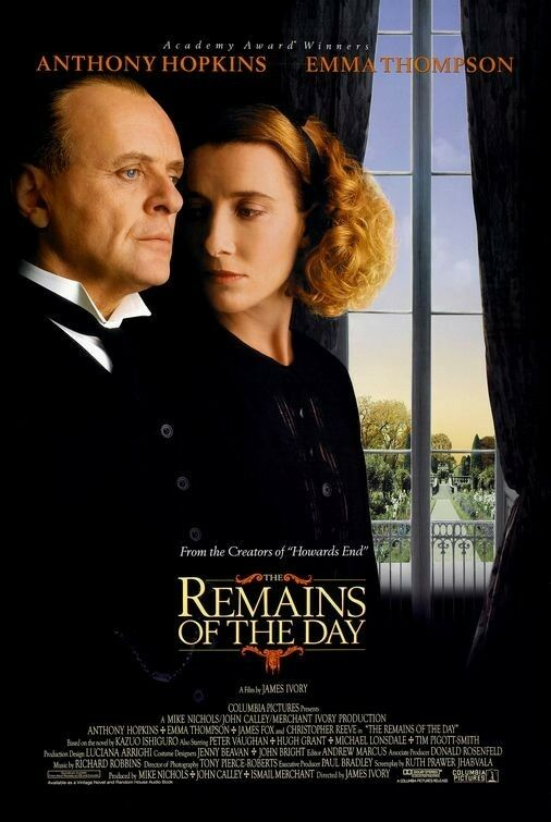 REMAINS OF THE DAY - 27x40 D/S Original Movie Poster One Sheet Anthony ...