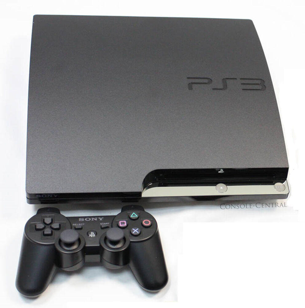 Free Ps3 Console: SONY PLAYSTATION 3 PS3 SLIMLINE SLIM 120GB CHARCOAL