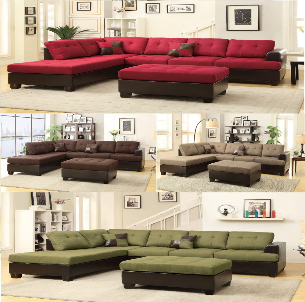 Contemporary Sectional: Sectional Sofa Contemporary Sectionals Couch Chaise Corner
