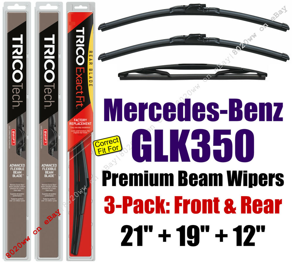 how to change wiper blades for glk 350