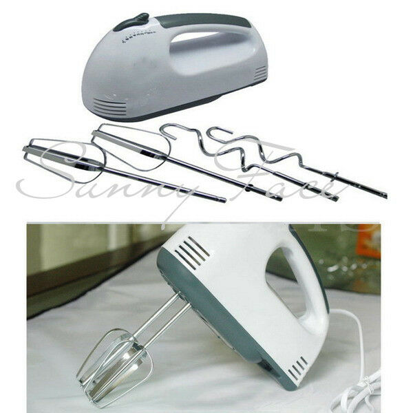 Electric Hand Mixer ~ Electric hand mixer whisk mini cream food egg beater milk