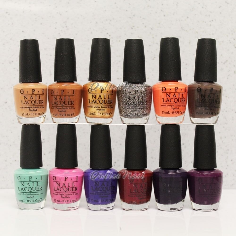 OPI Nail Lacquer Polish NORDIC COLLECTION Fall Winter ...