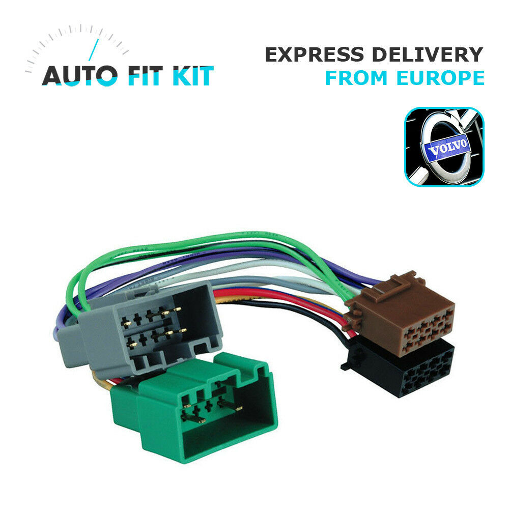 Car Radio Wiring Harness Adapter Opinions About Diagram Stereo Volvo Lead Iso Replacement Plug Adaptor Ebay Adapters Walmart Sony