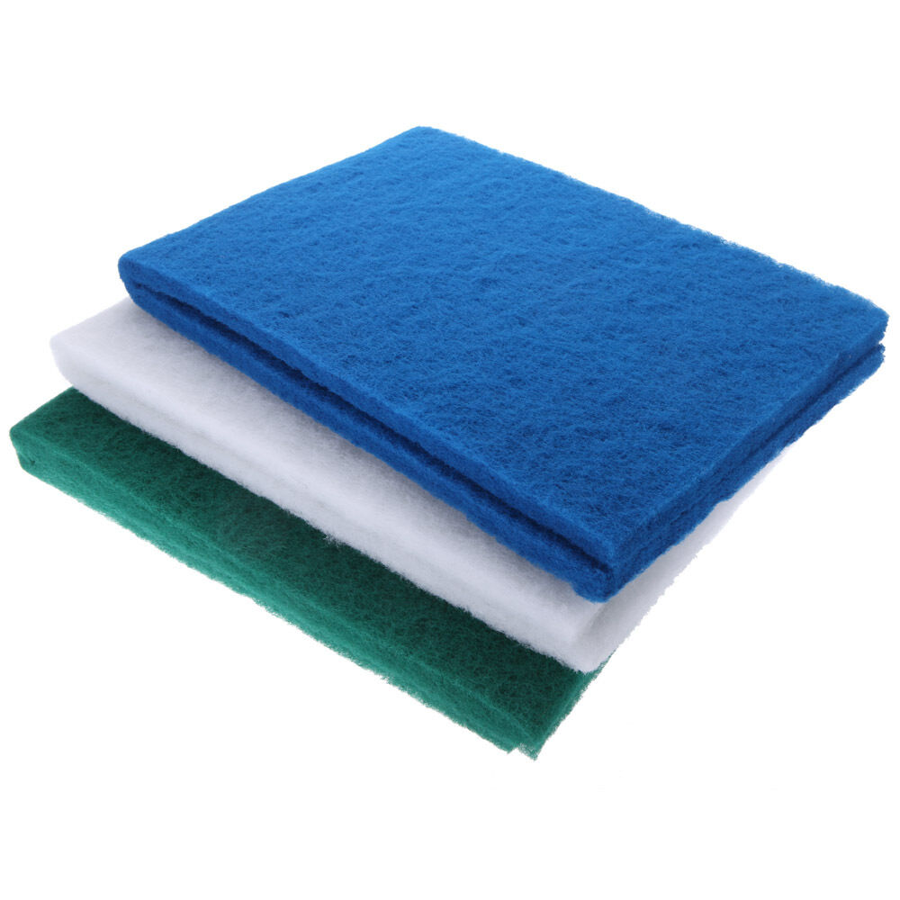 Reusable biochemical cotton filter foam sponge pad for for Pond filter foam which way up
