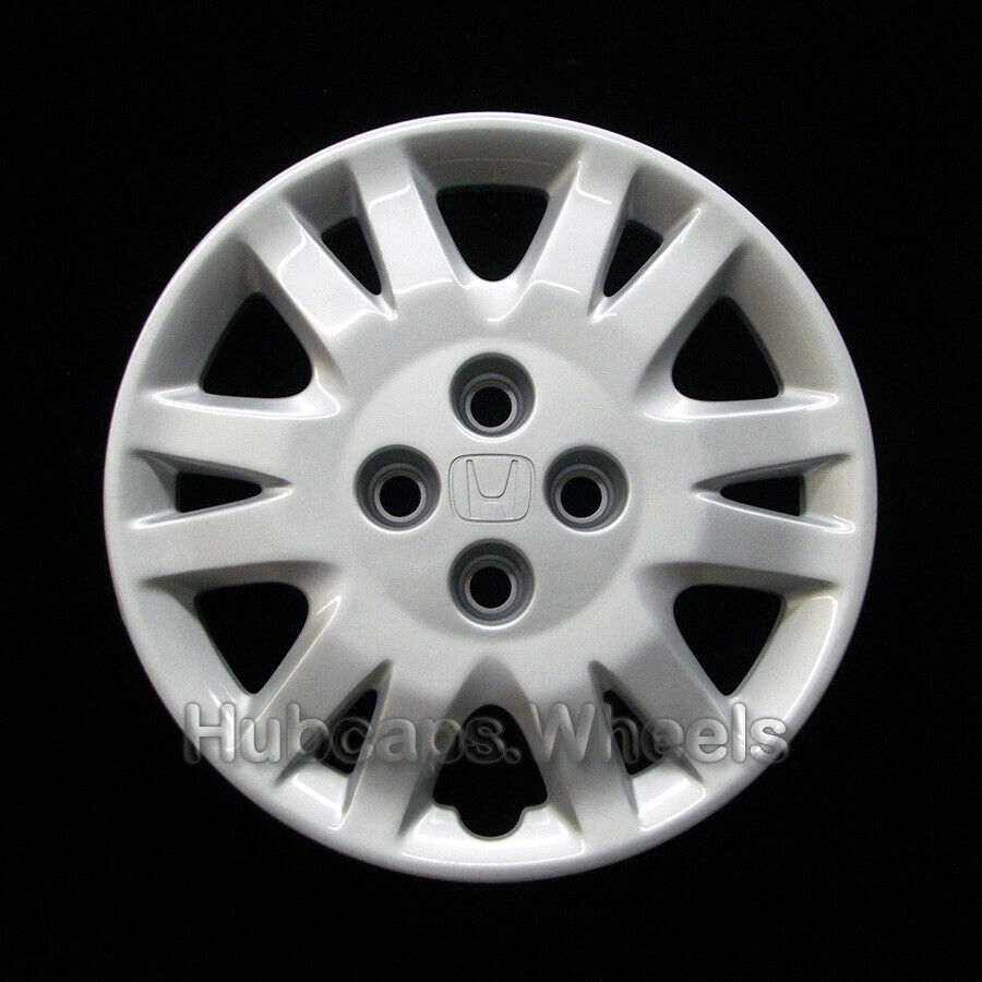 honda civic   hubcap genuine factory oem  wheel cover silver ebay