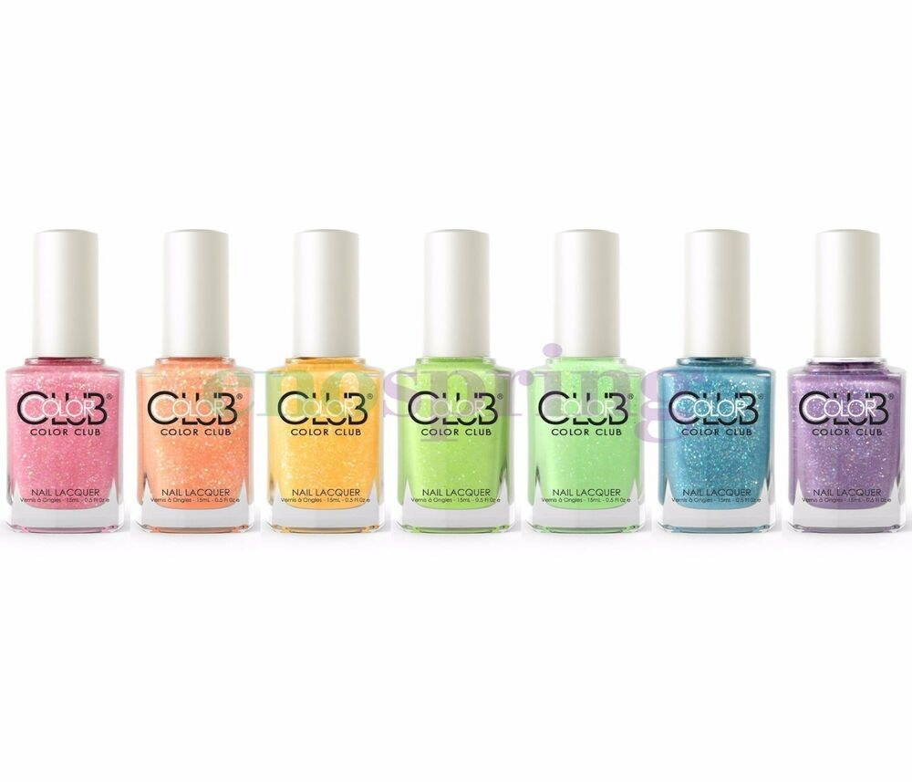 Who Sells Color Club Nail Polish: Color Club Poptastic Pastel Neon Remix Nail Polish Lacquer