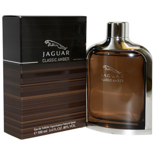 Jaguar Perfume For Mens Price: Jaguar Classic Amber By Jaguar 3.4 Oz EDT Cologne For Men New In Box