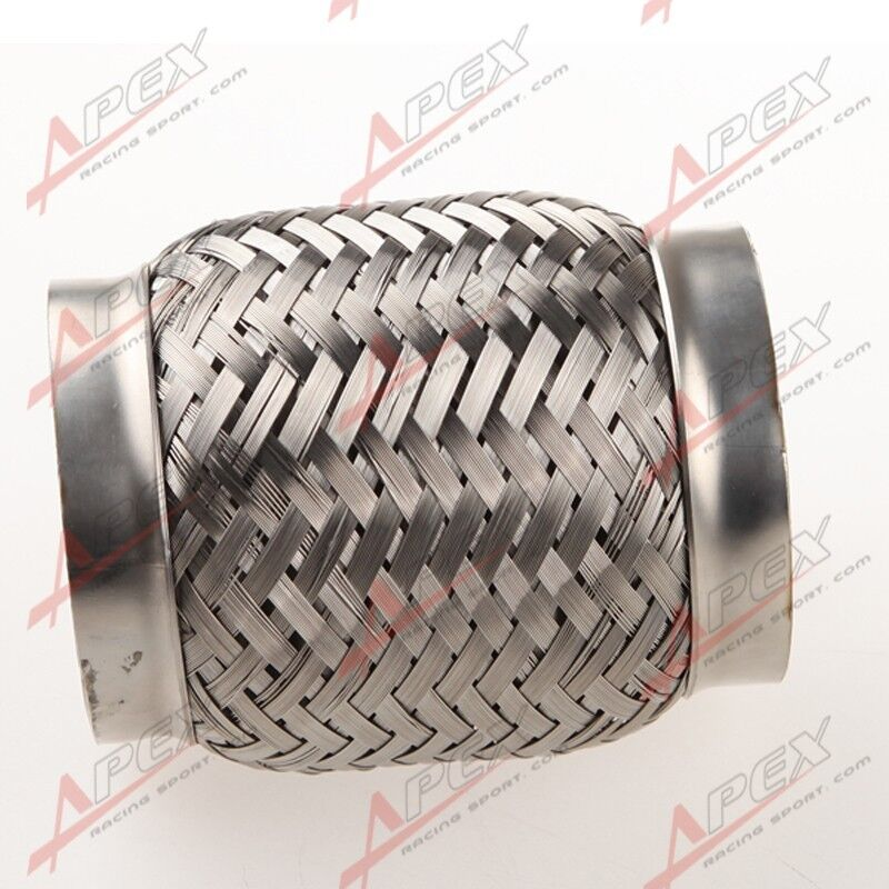 Steel Coupler For Exaust : Quot exhaust flex pipe length stainless steel coupling