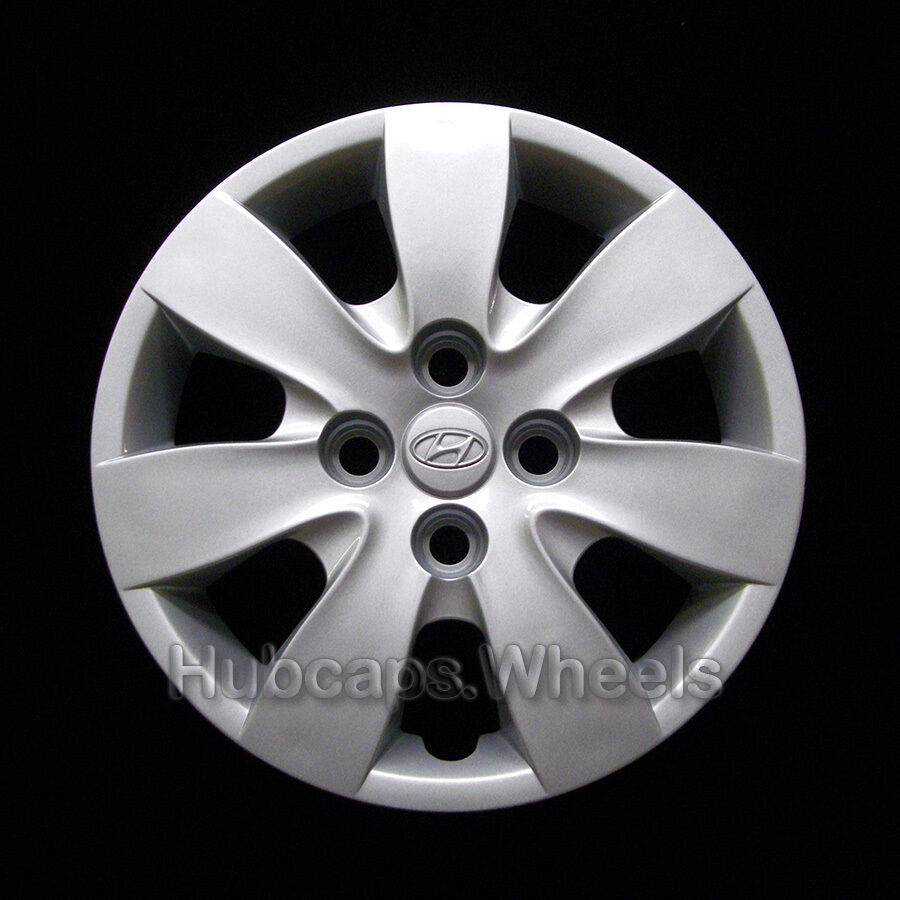 Hyundai accent 14in hubcap wheel cover 08 09 10 11 55563 silver ebay