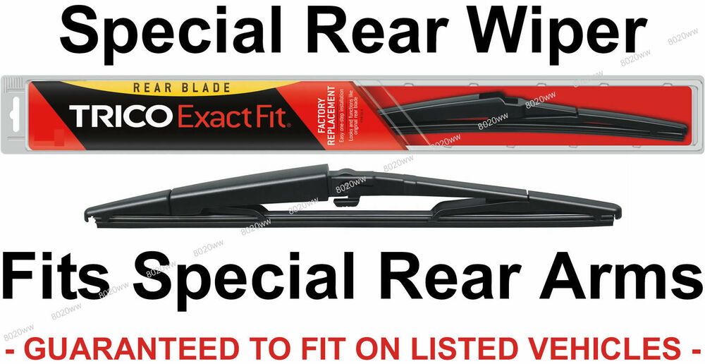 Trico 14 C 14 Quot Rear Wiper Blade For Slide Pinch Rear Arm