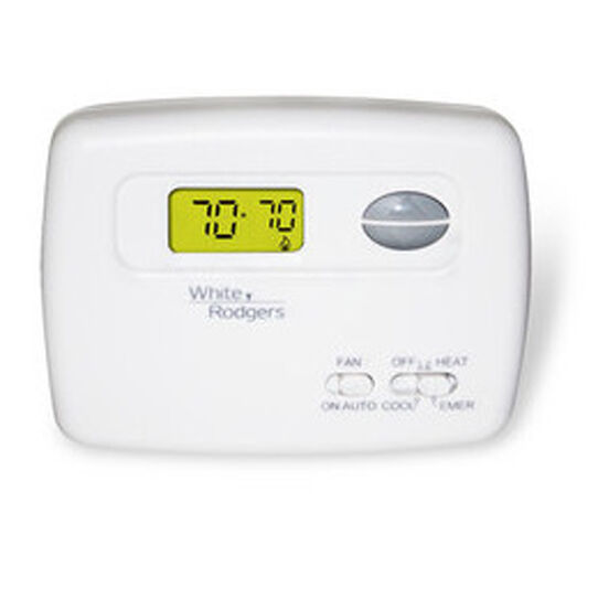 Thermostat White Rodgers Heat Pump 2 Heat    1 Cool 1f79